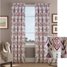 better homes and gardens damask curtain panel walmart com