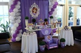 sofia the birthday ideas princess sofia birthday party decoration ideas