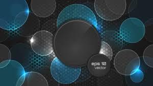 vector background modern pattern round shape background modern vector 01 vector background free
