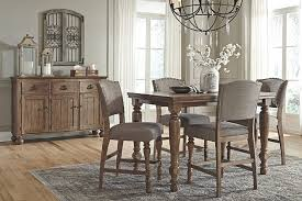 ashley dining room furniture set alluring tall dining room set tanshire counter height table ashley