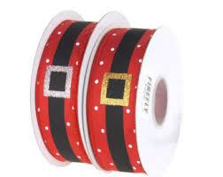 santa belt ribbon ribbon belt etsy