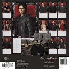 the vampire diaries wall calendar 2017 day dream 0038576276772