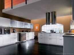 Orange And White Kitchen Ideas A Contemporary Two Tone Kitchen Under A Loft