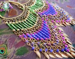 Colorful Chandelier Earrings Bohemian Gypsy Fantasy Victorian Chandelier Earrings By Kerala