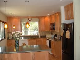 New Kitchen Island by Kitchen Wooden New Kitchen Dark Cabinet Design Combined With New
