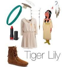 Tiger Lily Halloween Costume Princess Tiger Lily