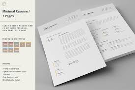 indesign template resume resume cover letter template resume templates creative market