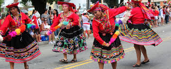 authentic colours of peru authentic communities with traditions in
