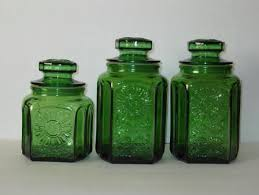 green kitchen canister set 11 best canisters images on canister sets kitchen and