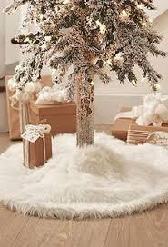 faux fur tree skirt resoration hardware decor