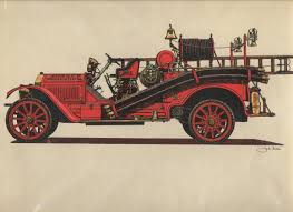 vintage cars drawings auto prints