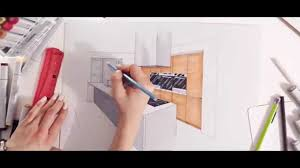 Draw Kitchen Cabinets by Interior Design Kitchen Drawn By Hand By Temza Construction