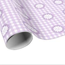 gingham wrapping paper purple gingham wrapping paper zazzle