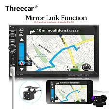 mirror link android android phone mirror link 2 din universal 7 bluetooth car radio