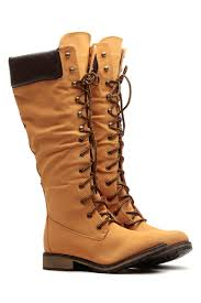 s boots calf length camel faux leather calf length mountain boots cicihot boots