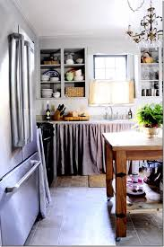 curtains for open kitchen cabinets basement inspiring