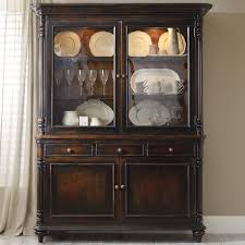 hooker furniture eastridge buffet and hutch with 2 seeded glass