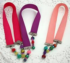 ribbon bookmarks summer notebook and magnetic ribbon bookmarks may arts wholesale