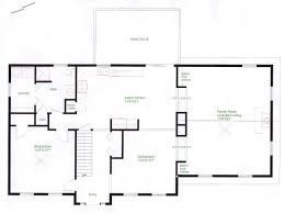 colonial house floor plans pictures colonial house floor plan free home designs photos