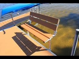 dock bench that snaps on youtube