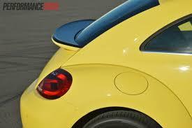 volkswagen beetle yellow 2013 volkswagen beetle rear spoiler