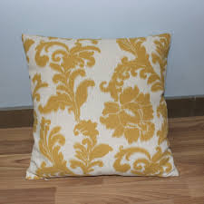 vezo home vintage yellow floral linen sofa cushions cover home