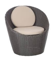 All Weather Wicker Chairs The Bella Bollo Round Wicker Bistro Set Includes Two All Weather
