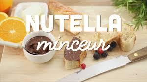 cuisine az minceur nutella minceur cuisineaz