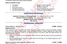 nurse resume template free jospar