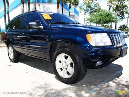 lowered jeep grand cherokee 2001 patriot blue pearl jeep grand cherokee limited 4x4 29004530