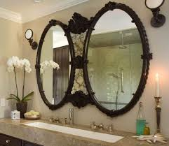 Bronze Mirror For Bathroom Brown Design Development How To Select Lighting In Your Home