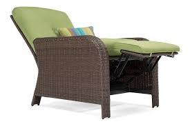 sawyer patio recliner cilantro green u2013 la z boy outdoor