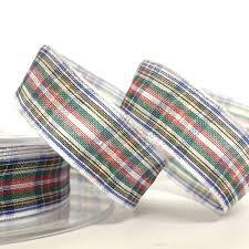 tartan ribbon 16mm tartan ribbon organza dress stewart tartan