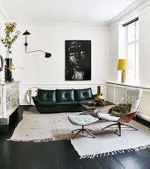 Best Living Room Images On Pinterest Living Spaces Live And - Black and white family room