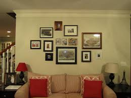 small and large picture frame on wall come with square shaped plus