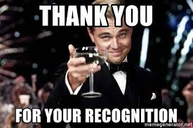 Bacon Meme Generator - thank you for your recognition great gatsby bacon meme generator