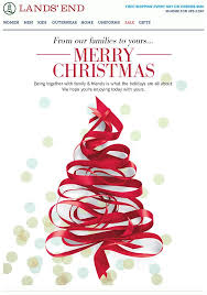 lands end christmas 23 bright merry christmas html email templates mailbakery