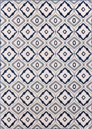White Modern Rug by Sydney Rugs Collection Modern Geometric Styles Well Woven