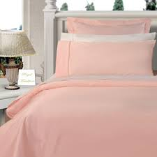 Comforter Thread Count Blush Pink Twin Xl Duvet Cover Set 100 Cotton 300 Thread Count