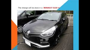 renault clio 4 how to replace pollen filter cabin filter youtube