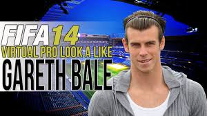 fifa 14 all hairstyles fifa 14 ps4 virtual pro look a likes bale new hairstyle youtube