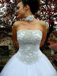 my liberty glamorous wedding dress hand beaded corset straight