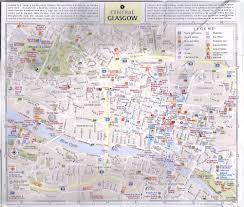Edinburgh Map Glasgow And Edinburgh Pop Out Map