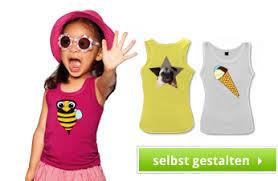 tops selbst designen günstige kinder shirts bedrucken lassen mit foto und text gestalten