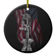 fallen soldier ornaments keepsake ornaments zazzle