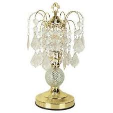 Mini Chandelier Table Lamp Crystal Table Lamp Ebay