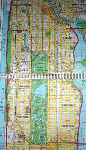 Manhattan Street Map Exciting New York Ny Attractions And Pictures