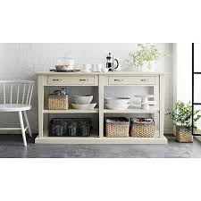 Buffet Tables And Sideboards by The Open Shelves Make This Feel Modern And Practical Too