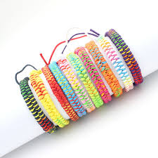 weave friendship bracelet images Bohemian brand bangle weave cotton friendship bracelet woven rope jpg
