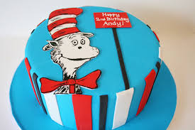 dr seuss birthday cakes birthday cakes nj dr seuss cat in the hat custom cakes sweet